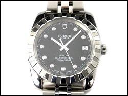 腕時計高価買取中 チュードル クラシックデイト 21010G メンズウォッチ 10Pダイヤ 入荷いたしました!!