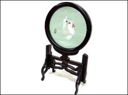 中国工芸品 回転式置物 猫 猫とカマキリ 鶴と松 入荷しました!!