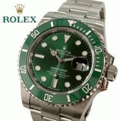 ロレックス サブマリーナ グリーン メンズ腕時計 116610LV が入荷致しました