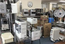 暖房器具大量展示中です!